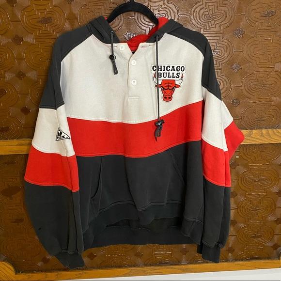 Vintage Other - Chicago Bulls Apex Hoodie Sweatshirt Vintage 90s